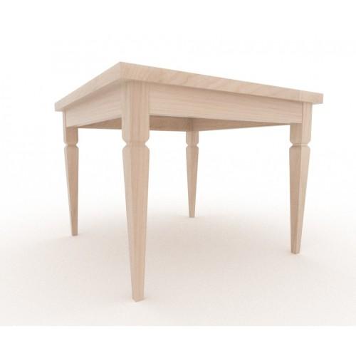 Tavolo in legno massello da montare con gambe dal - Piedi in legno per tavoli ...